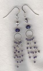 Iolite earrings FAC8241