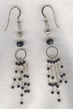 Onyx earrings FAC8242