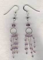 Amethyst earrings FAC8243