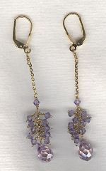 CZ earrings FAC8245