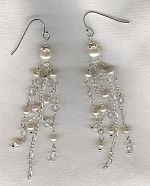 Freshwater pearl earrings PRL3234