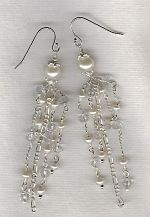 Freshwater pearl earrings PRL3236