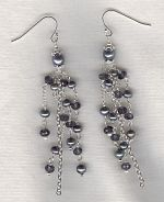 Freshwater pearl earrings PRL3242