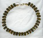 Faceted Olive Tourmaline Necklace FAC1128