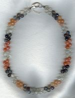 Rainbow Moonstone necklace FAC1889