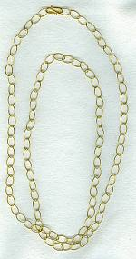 Gold Chain necklace FAC8041