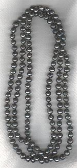 SPECIAL PURCHASE!! Black Freshwater pearls PRL3184