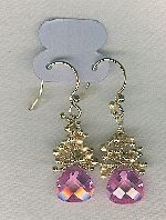 SPECIAL PURCHASE!! CZ drop earrings FAC8125