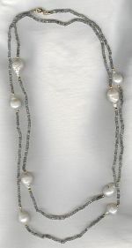 Freshwater pearl necklace PRL3244