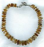Topaz drops and Citrine necklace FAC1628