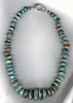 Turquoise necklace NUG2822