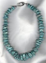 Turquoise necklace NUG2823