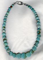 Turquoise necklace NUG2824