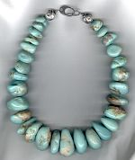 Turquoise necklace NUG2826
