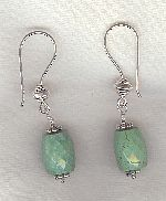 Tibetan Turquoise Earrings FAC8170