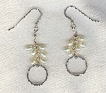 SPECIAL PURCHASE!! White Freshwater seed pearl earrings PRL3214