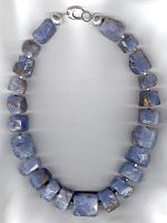 Chalcedony necklace CC6224