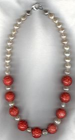 Freshwater pearl necklace PRL3221