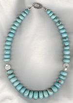 Turquoise necklace CC6234