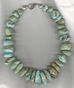 Turquoise necklace NUG2834